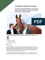 War Horse in Berlin