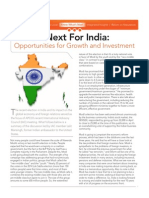 What's Next for India - Opportunties for Growth and Investment