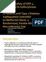 CA Sitagliptin vs Glipizide 1.1
