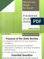 itec 7305 freshman academy data overview - herndon