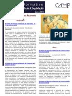 Newsletter  Intercalar da CAMMP de Junho de 2014