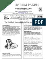 June 22nd Bulletin