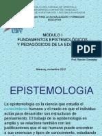 Epistemologia Ramon Gonzalez