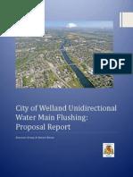 cow unidirectionalflushing proposalreport