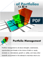 Types of Portfolios in Finance
