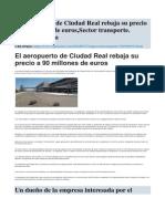 Ultimas Noticias Aeropuerto CR