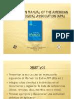 Presentacion Manual de Estilo Apa