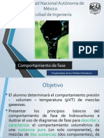 3. Comportamiento de Fases - VERSION I