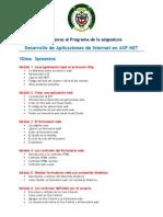 Desarrollo de Aplicaciones de Internet en ASP - PROPUESTA de MEJORAS