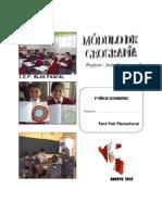 2º Año de Secundaria Geografía - Licenciado Rolando Rios Reyes
