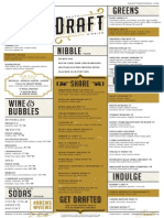 Draft Menu