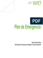 Seminario Plan de Emergencias UV