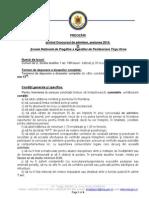 PRECIZARI CONCURS DE ADMITERE IN SNPAP, SEPTEMBRIE 2014