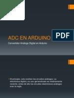 Adc en Arduino