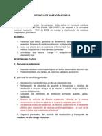 Manual Placentas