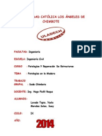 Patologias en La Madera