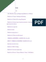 Danh Muc Sach Handbook