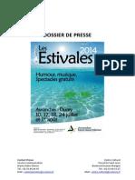 Les Estivales 2014 - Avranches & Ducey - Dossier de Presse