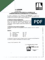 Eleccion Junta Condominio 2009 ed. Morichal