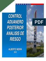 Control Posterior Aduanero Analisis de Riesgo[1]