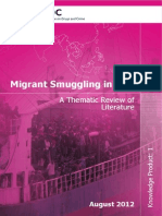 Migrant Smuggling in Asia a Thematic Review of Literature