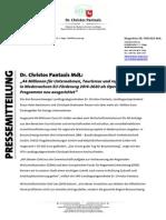 Pressemitteilung | EU-Förderung 2014-2020 als Operationelle Programme neu ausgerichtet | Ein guter Tag für Braunschweig