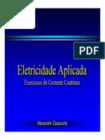 Eletricidade Básica 03 - Corrente Contínua (Exercícios Resolvidos)