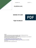 747 200F My Planes Handbook