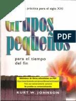 JOHNSON, Kurt W. Grupos Pequeños (1)