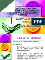 Las Habilidades Cognitivas 2012