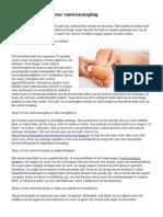 Leer in 6 stappen over voetverzorging