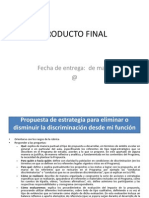 Producto Final