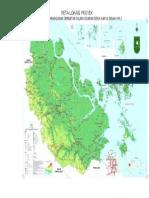 Peta Riau Warnajembatan 2013