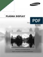 Samsung HP-S4253 Manual