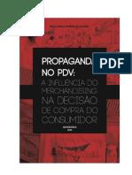 PROPAGANDA NO PDV - A Influência Do Merchandising Na Decisão de Compra Do Consumidor