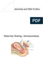 BIOTEK Familial Relationship and DNA Profiles