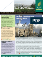 Ciaran Cuffe Newsletter Winter 09