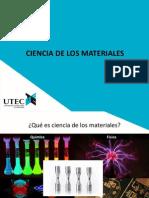 01 Semana Introduccion a Ciencia de Los Materiales Fundamentos