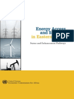 Energy Access and Security in Eastern Africa - Status and Enhancement Pathways