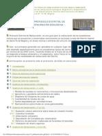 Protocolo Restauración Ecológica DAMA