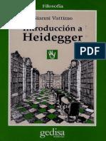142 Vattimo- Una Introduccion a Heidegger