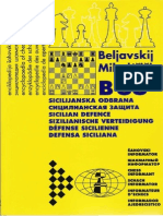 Chess Informant - Beliavsky & Mikhalchishin - Defensa Siciliana (B88)