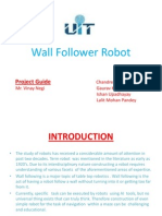 Wall Follower Robot - Presentation