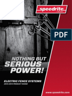 813937 Speedrite Electric Fencing Brochure - NZ, AUS and Rest of World