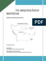 Arqueología Matiguás.
