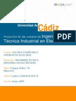 Trabajo de Grado Energía Eólica en España