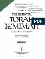 The Essential Torah Temimah - Bereishis