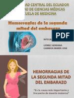 Hemorragias de La Segunda Mitad Del Embarazo 2