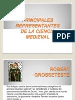 Principales Representantes de La Ciencia Medieval