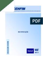 Manual Rectificação - Cenfim